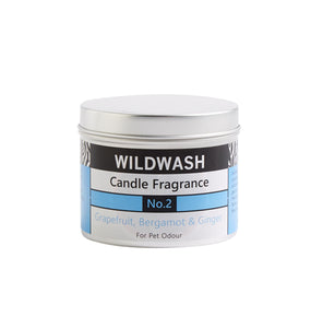 WildWash Natural Candle Fragrance No.2 - Tin
