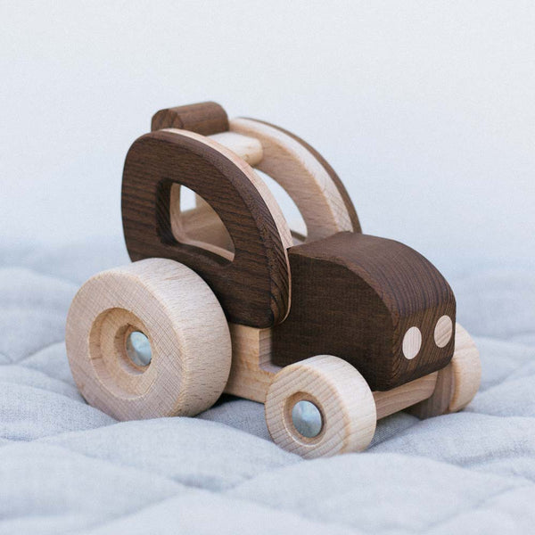 Warren Hill Goki Nature Tractor Wooden Toys