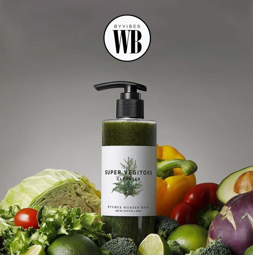 WONDER BATH Super Vegitoks Cleanser 300ml