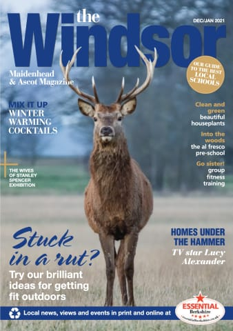 The Windsor Maidenhead and Ascot Magazine with Deer Front Cover Photo by Halid K Izzet at Rhubarb & Custard Photo Wall Art Gallery