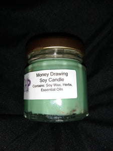 Money Drawing Fixed Candle