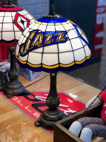 "Jazz Tiffany Lamp 20"" - Utah Sports Collective"