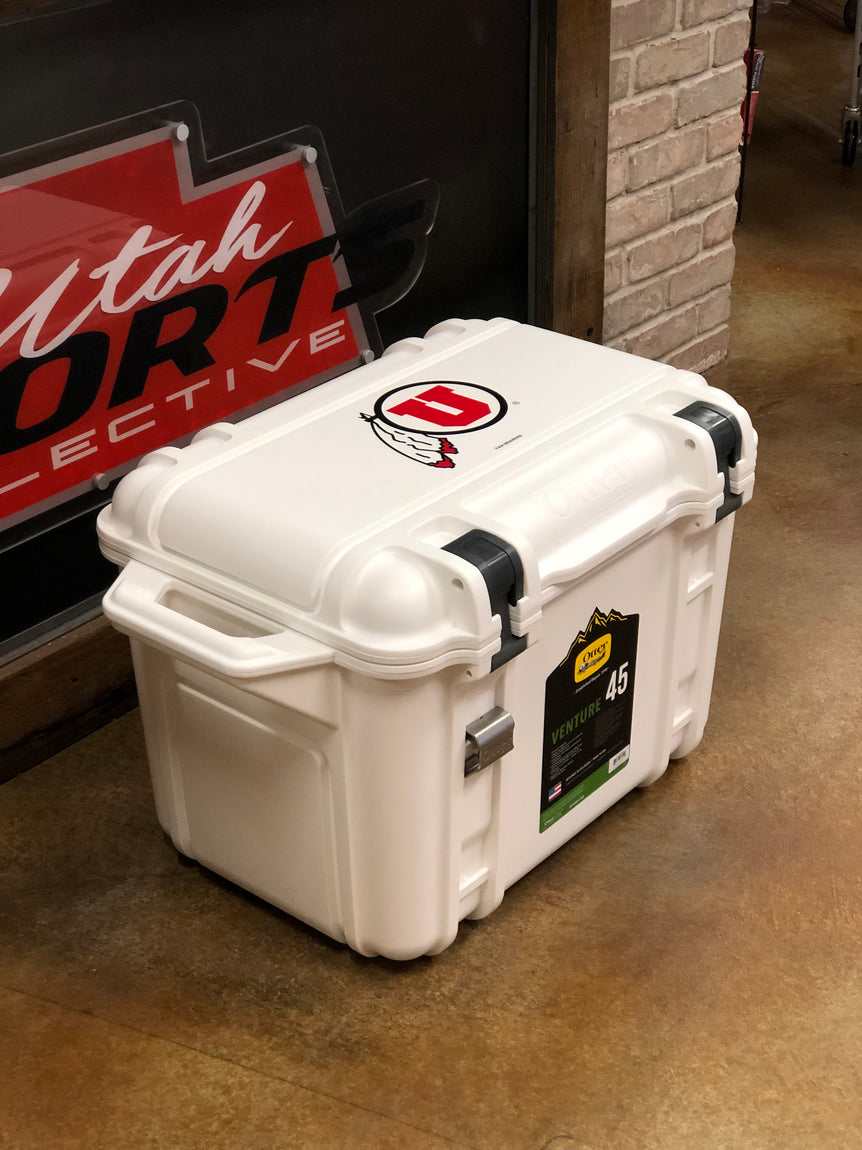 Utah OtterBox Venture 45 Cooler Drum And Feather