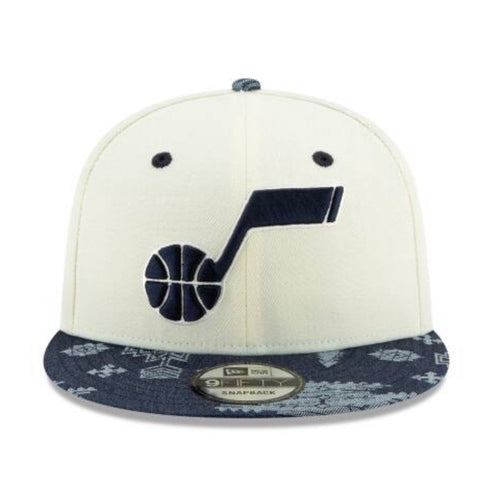 Utah Jazz New Era 950 Donovan Chrome Hat Snapback