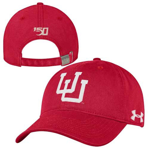 Utah Under Armour Red Vault U 150 Years Adjustable Hat