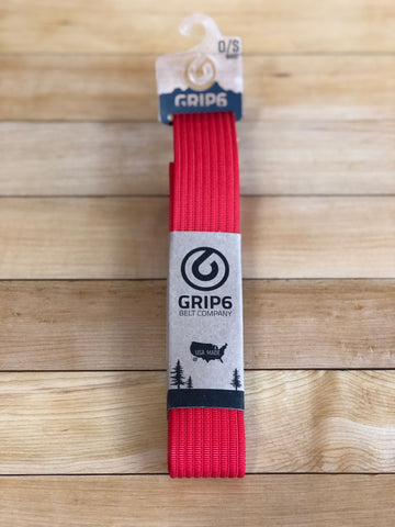Utah Grip6 Red Belt