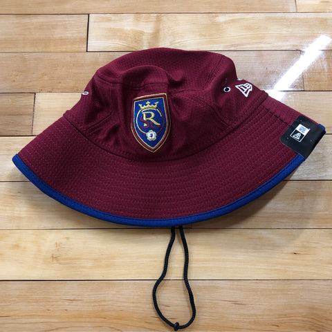 RSL New Era Maroon Bucket Hat - Utah Sports Collective