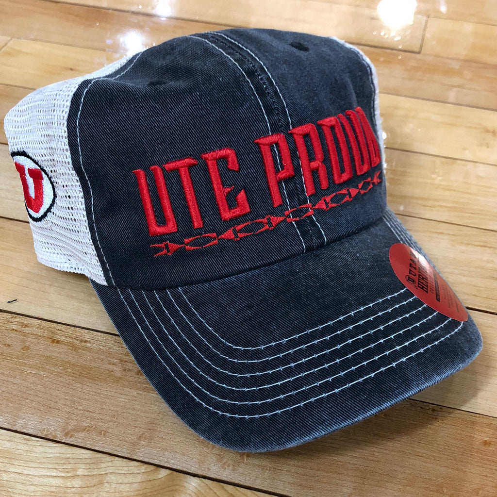 Utah Ute Proud Dirty Mesh - Utah Sports Collective