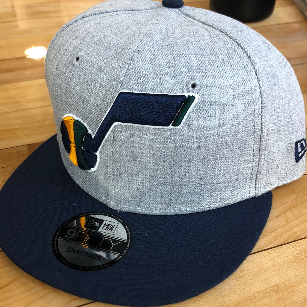 Jazz new era 950 hat Note 2tone snapback - Utah Sports Collective