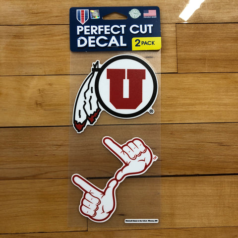 Utah 2 Pack Decals - Utah Sports Collective