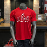 Utah Champion Men's Red Basketball Tee - Utah Sports Collective