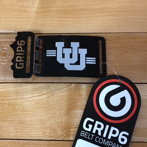 Utah Grip 6 UU Black Buckle - Utah Sports Collective