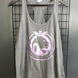 Royals Racerback Tank Foil Print - Utah Sports Collective