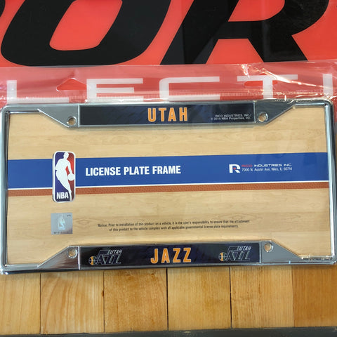 Jazz Ez View Chrome Frame - Utah Sports Collective