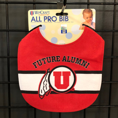 Utah Future Alumni Baby Bib. - Utah Sports Collective