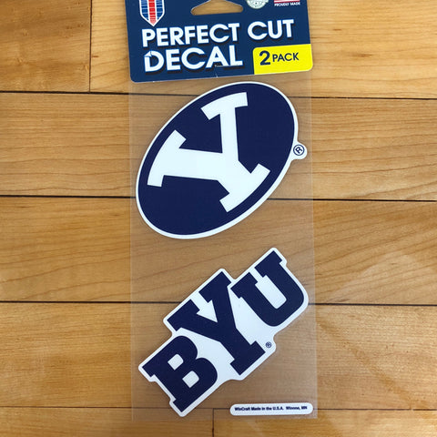 BYU Decal 2pk - Utah Sports Collective