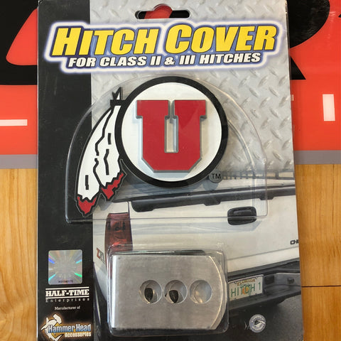 Utah Hitch Cover Large - Utah Sports Collective