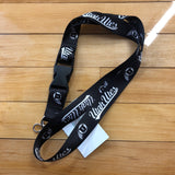 Utah Black & White Lanyard - Utah Sports Collective