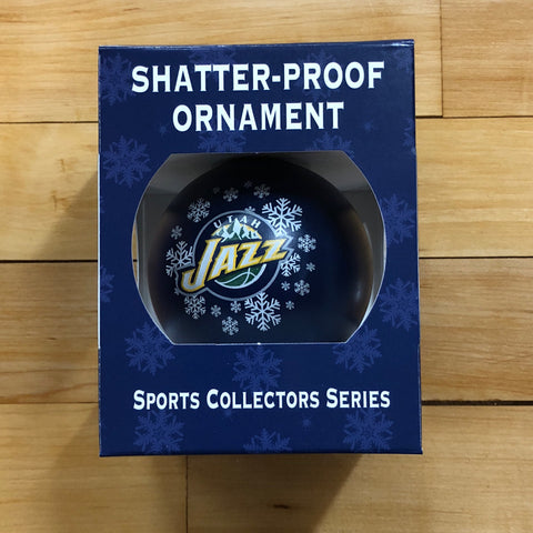 Jazz Shatterproof Ornmt - Utah Sports Collective