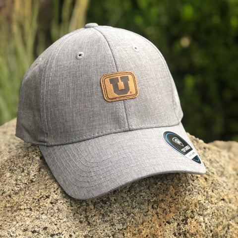 Utah Top Of The World Swing Adjustable Grey Hat