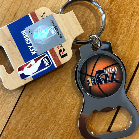 Jazz Bottle Opener Keytag - Utah Sports Collective
