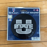 USU Die Cut Magnet - Utah Sports Collective