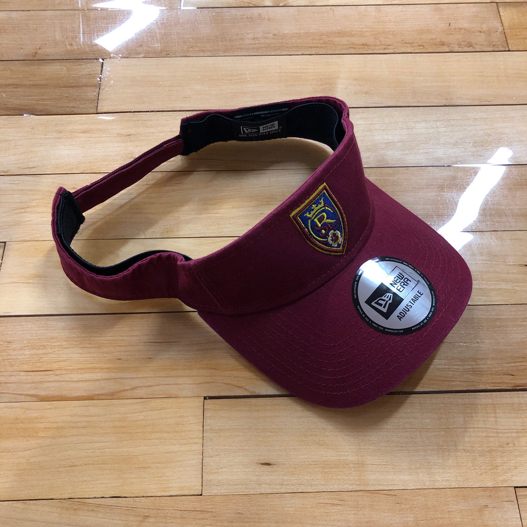 RSL New Era Maroon Visor - Utah Sports Collective