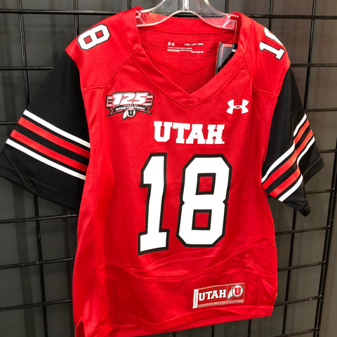 Utah Youth Replica 125yr Jersey Red - Utah Sports Collective