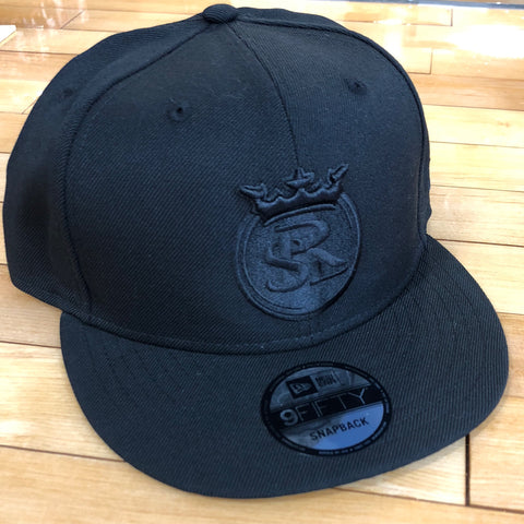 RSL New Era 950 hat black SnapBack - Utah Sports Collective