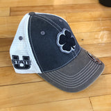 USU Black Clover hat 2T Vintage flexfit - Utah Sports Collective