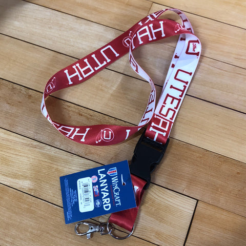 Utah Vault 2 Tone Lanyard - Utah Sports Collective