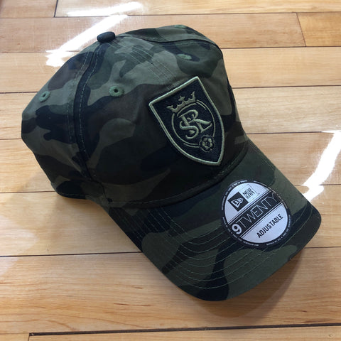 RSL New Era Camo Adjustable - Utah Sports Collective