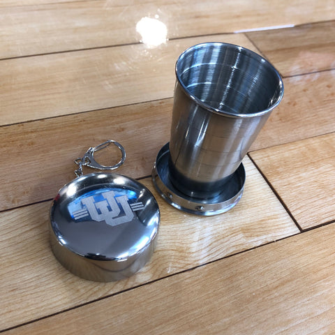 Utah Collapsible Keychain Shot Glass - Utah Sports Collective