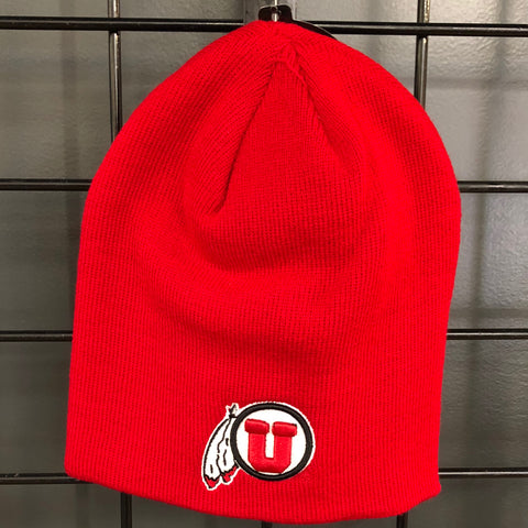 Utah Edge Knit Beanie - Utah Sports Collective