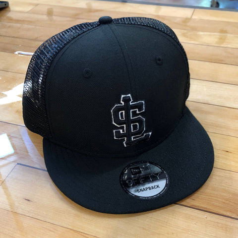 Bees New Era 950 Black Mesh - Utah Sports Collective