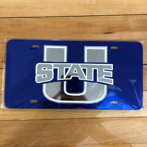 USU License Plate Insert - Utah Sports Collective