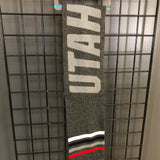 Utah Upland Charcoal Scarf - Utah Sports Collective