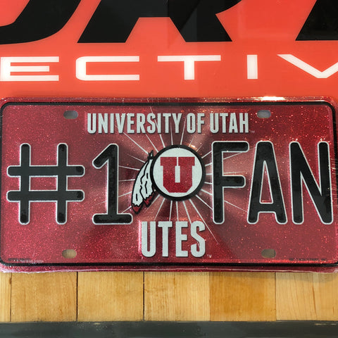 Utah Bling #1 Fan Metal Tag - Utah Sports Collective
