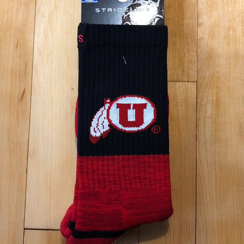 Utah Full Knit Red Black DF - Utah Sports Collective