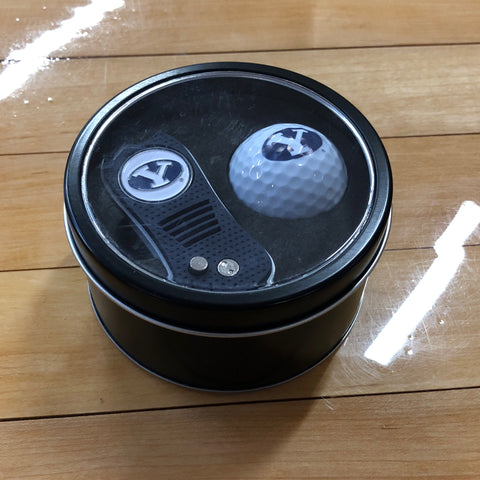 BYU Divot/Ball Tin Set - Utah Sports Collective