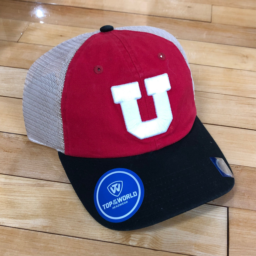 Utah Backroad Block U Rd/tan/blk - Utah Sports Collective