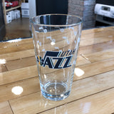 Jazz 16oz Pint glass - Utah Sports Collective