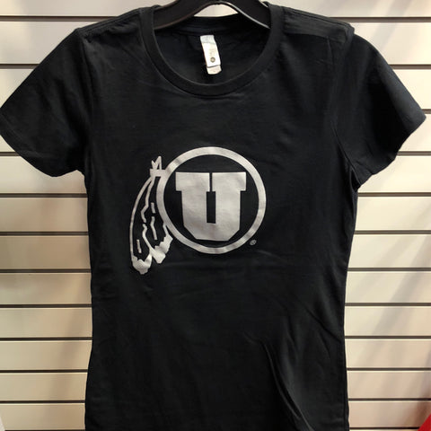 Utah NL Basic DF Black Tee - Utah Sports Collective