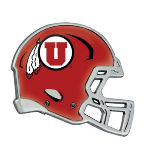 Utah Utes Helmet Auto Emblem Drum And Feather