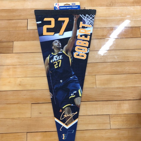 Jazz Rudy Gobert Felt Pennant - Utah Sports Collective