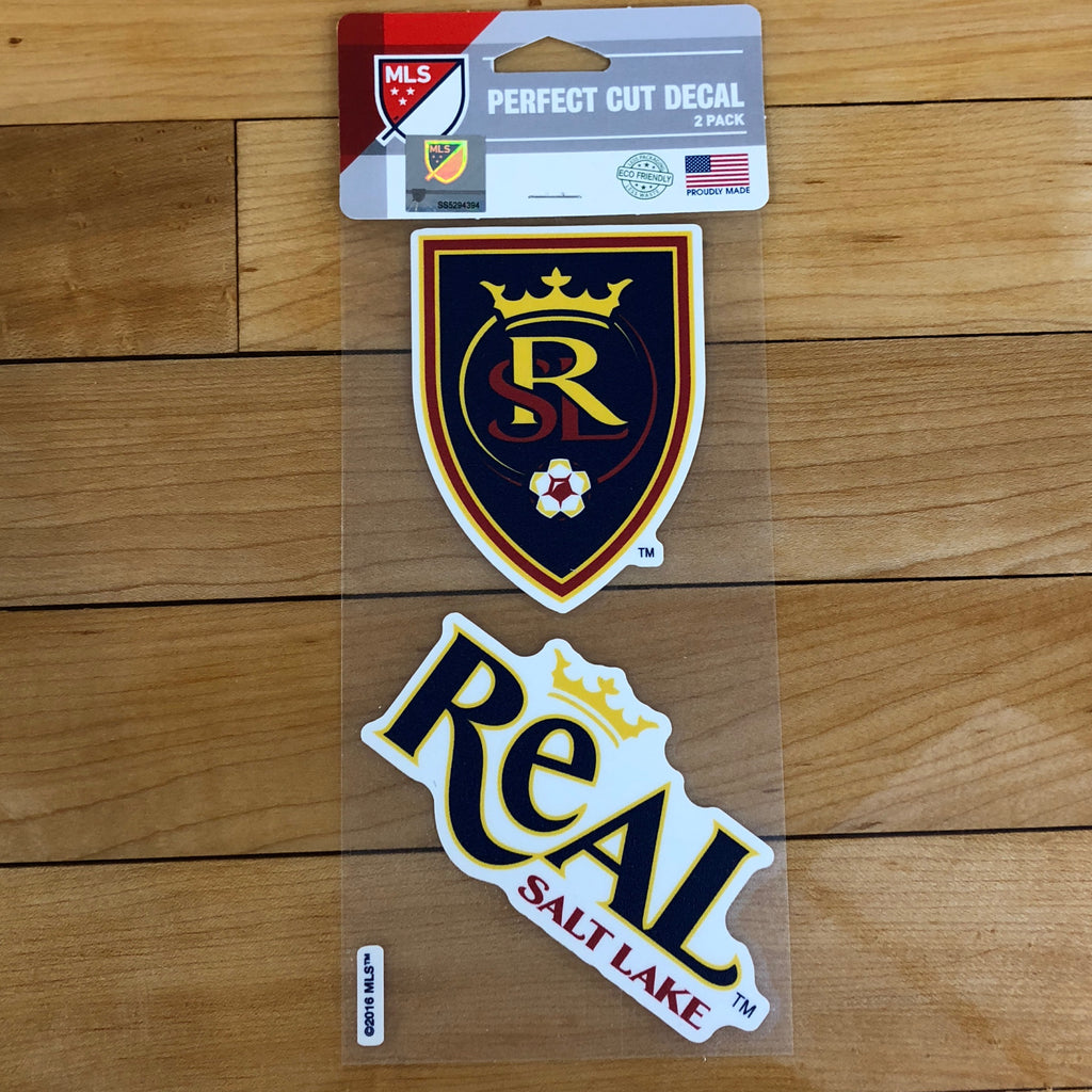 Real Salt Lake Decal 2pk - Utah Sports Collective