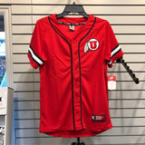Utah Colosseum Red Youth Baseball Jersey - Utah Sports Collective