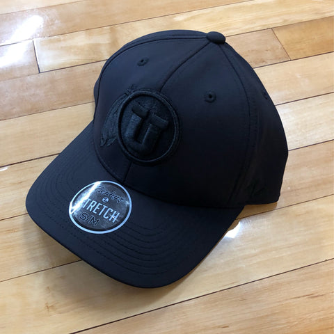 Utah Zephyr Black Obsidian Stretch Fit Hat