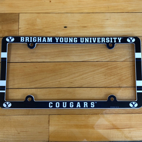 BYU Plastic Plate Frame - Utah Sports Collective