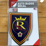 RSL Auto Badge Decal - Utah Sports Collective